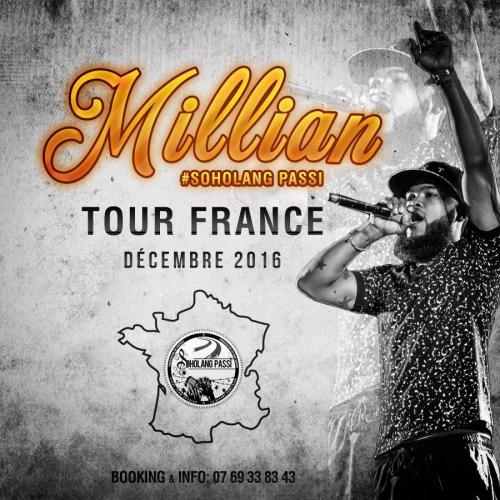 MILLIAN FRANCE TOUR 2016